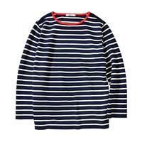 SLOANE×2nd コラボ ボーダーコットンシャツ