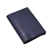 アシュフォード×趣味の文具箱 ブルーコードバン ノート手帳カバーA6