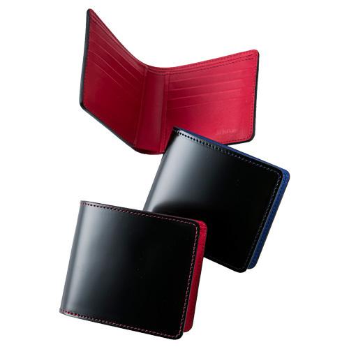 BikeJIN×Pair Slope コードバン二つ折り財布
