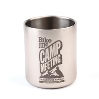 BikeJIN Camp Meeting チタンマグカップ