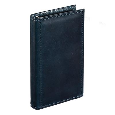 アシュフォード×趣味の文具箱 ブルーコードバンシステム手帳マイクロ5