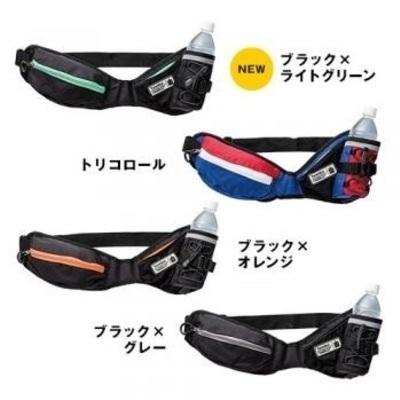 ランニング・スタイル×ラン・ウォークスタイル コラボモデルボトルポーチ「YURENIKUI」