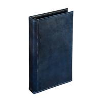アシュフォード×趣味の文具箱 ブルーコードバンシステム手帳バイブルサイズ(リング径15mm)