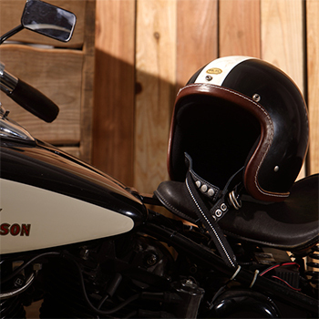 TT&COMPANY×CLUB HARLEY コラボ レザーリムショット CLUB HARLEY EDITION