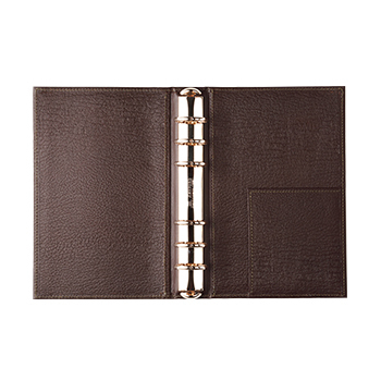 アシュフォード×趣味の文具箱 システム手帳 バイブルサイズ(リング径25mm)アービン