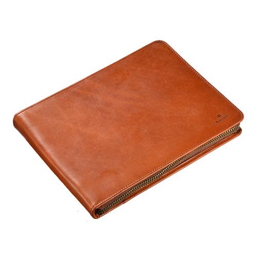 アシュフォード×趣味の文具箱 トラッドブラウン 10本挿しペンケース