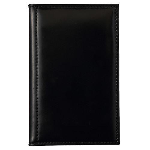 アシュフォード×趣味の文具箱 ブラックコードバン システム手帳 マイクロ5(リング径8mm)
